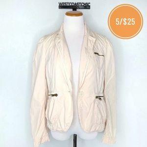 Marc Jacobs Pale Pink Lightweight Cotton Blazer